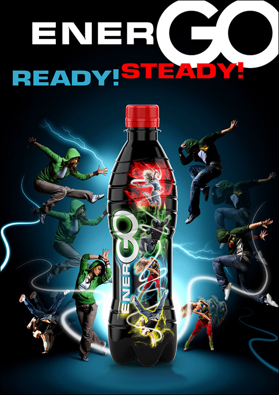 Energy Drink Flyer