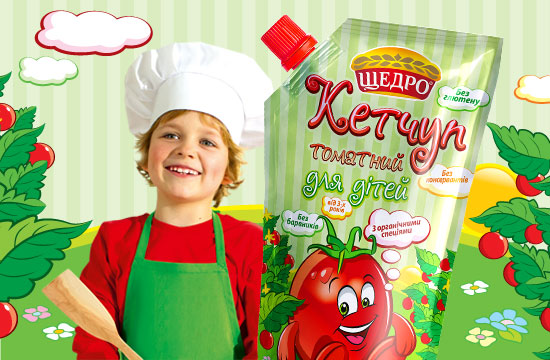 "Ketchup ""For children"""