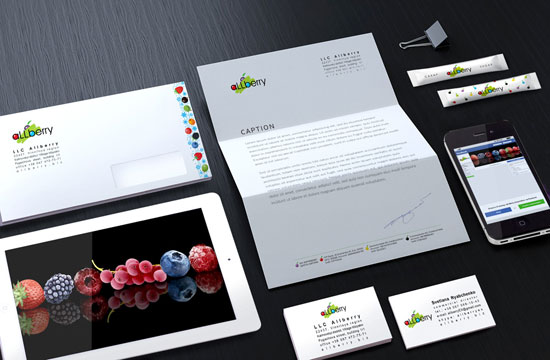 Creating of brand identity and brandbook of TM Allberry